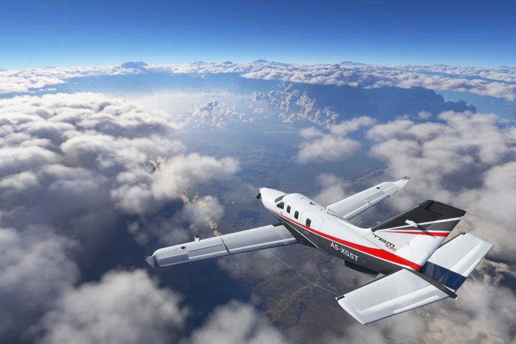 Symulator latanie samolotem