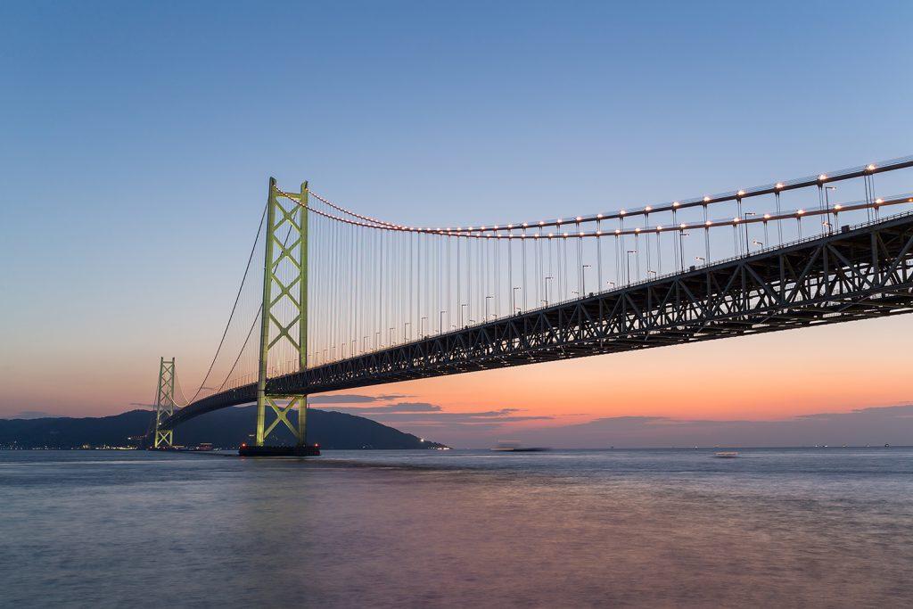 Transport drogowy - najdłuższe mosty wiszące na świecie