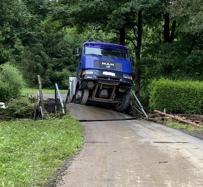 Transport drogowy do Niemiec - Powodzie skutecznie utrudniły ruch